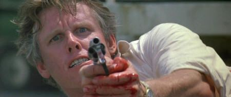 "Gary Busey en ""Le Llaman Bodhi"" (""Point Break"", 1991)"