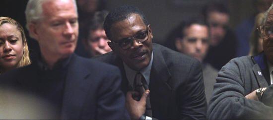 """Samuel L. Jackson en """"Al Límite de la Verdad"""" (""""Changing Lanes"""", 2002)"""