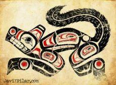 El lobo. Los quileutes. Mitología del noroeste de Estados Unidos