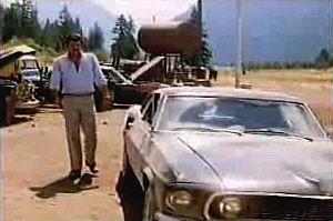 El Mustang del '69 de Malone