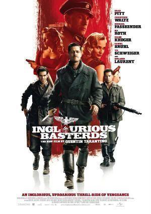 """Cartel de """"Malditos Bastardos"""" (""""Inglourious Basterds"""", 2009), de Quentin Tarantino"""