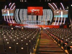 Sala donde se iba a celebrar el evento (Foto: Guille Milkyway)