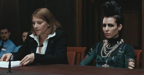 """Noomi Rapace en """"La Reina en el Palacio de las Corrientes de Aire"""" (""""Luftslottet Som Sprängdes"""", 2009)"""