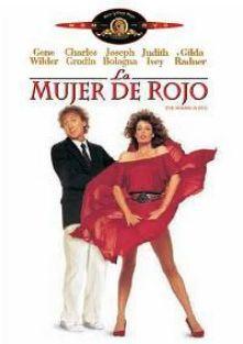 """Cartel de la película """"La mujer de rojo"""" (1984)"""