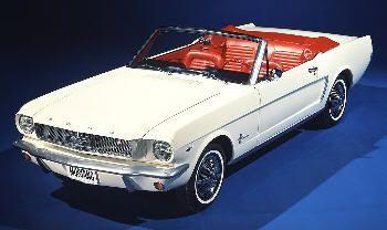 Mustang descapotable del 66