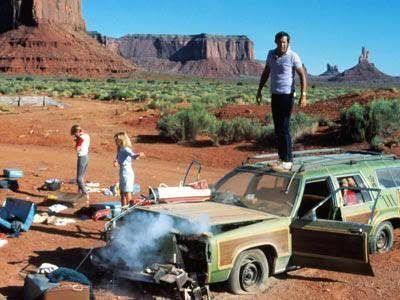"""Monument Valley en """"Las vacaciones de una chiflada familia americana"""" (National Lampoon's Vacation)"""