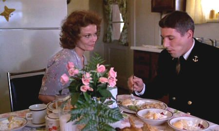 "Grace Zabriskie y Richard Gere en ""Oficial y caballero"" (""An Officer and a Gentleman"", 1982)"