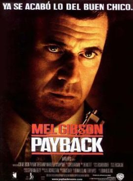 """Cartel de """"Payback""""(1999)"""