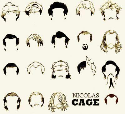 Los peinados de Nicolas Cage en sus películas