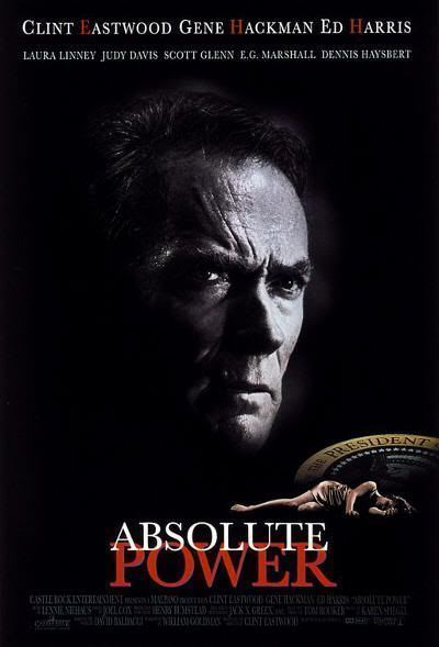 "Cartel original de ""Poder Absoluto"" (""Absolute Power"", 1997)"