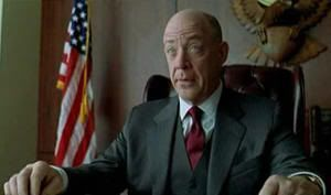 "J. K. Simmons en ""Quemar Después de Leer"" (""Burn After Reading"", 2008)"