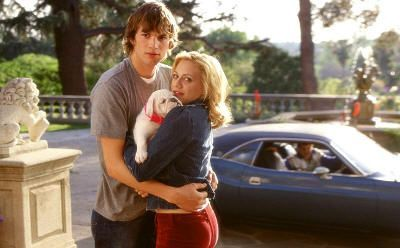 "Ashton Kutcher y Brittany Murphy en ""Recién Casados"" (""Just Married"", 2003)"