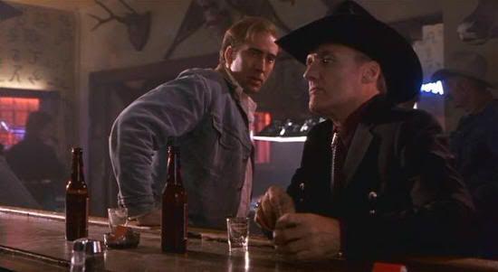 """Nicolas Cage y Dennis Hopper en """"Red Rock West"""" (John Dahl, 1993)"""