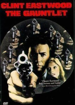 """Cartel de """"Ruta Suicida"""" (""""The Gauntlet"""", 1977)"""