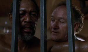 """Morgan Freeman y Gene Hackman en """"Sin Perdón"""" (""""Unforgiven"""", 1992)"""