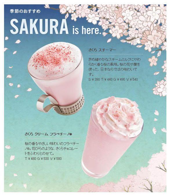 Nueva bebida Starbucks sakura