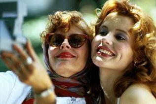 """""""Thelma y Louise"""", una película de escándalo"""