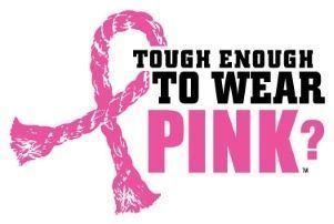 Tough enough to wear pink? (¿Suficientemente duro para vestir de rosa?)