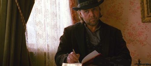 """Russell Crowe en """"El Tren de las 3:10"""" (""""3:10 to Yuma"""", 2007)"""