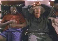 """Woody Harrelson y Wesley Snipes en """"Asalto al Tren del Dinero"""" (""""Money Train"""", 1995)"""