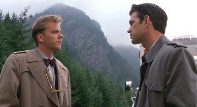 "Kiefer Sutherland y Chris Isaak en ""Twin Peaks: Fuego Camina Conmigo"" (""Twin Peaks:Fire Walk With Me"", 1992)"