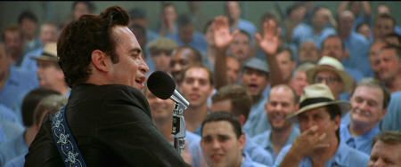"Joaquin Phoenix en ""En la cuerda floja"" (""Walk the Line"", 2005)"