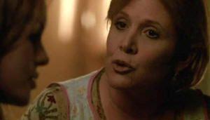"""Carrie Fisher en """"Wonderland (Sueños Rotos)"""" (""""Wonderland"""", 2003)"""