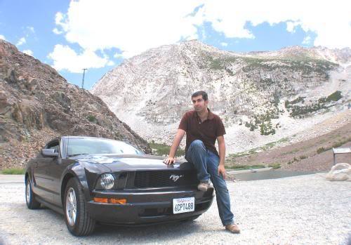 Con el Mustang por Yosemite