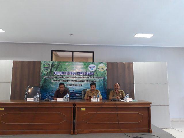 forum rembug konservasi javlec-aqua