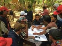 memperbaharui RKU hutan desa wanagiri