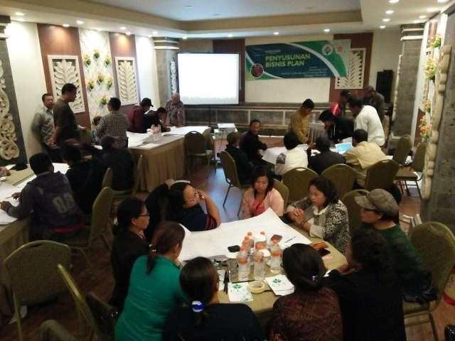 pelatihan bisnis plan untuk unit usaha desa