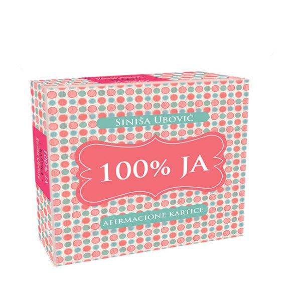 100% Ja afirmacione kartice sa kutijom Siniša Ubović
