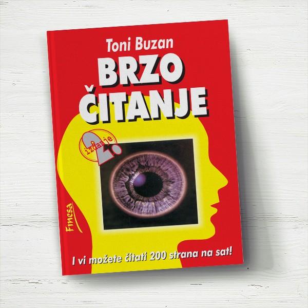 Brzo čitanje Toni Buzan - Javori izdavastvo - Za svakoga po nesto