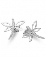 Carat Diamond Earrings Dragonfly