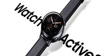 الساعة الذكية Samsung Galaxy Watch Active 2