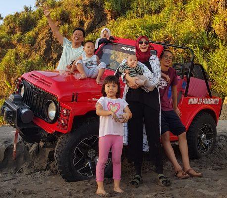 paket wisata jeep parangtritis