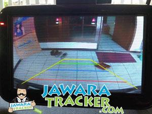 gps navigasi berfungsi sebagai kamera-mundur