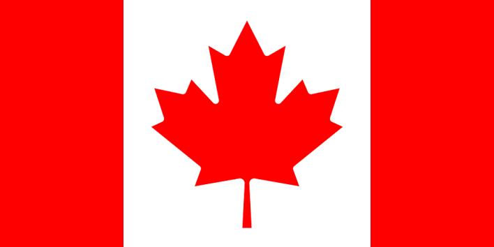 استخدامت ورقة القيقب كرمز وطني لعلم كندا