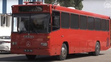 في تركيا حافلة ركاب خردة تتحول إلى فندق متنقل