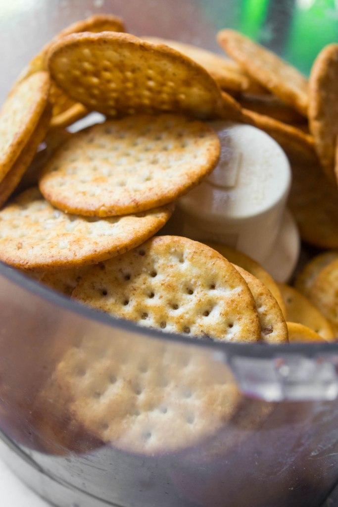 food processor crackers