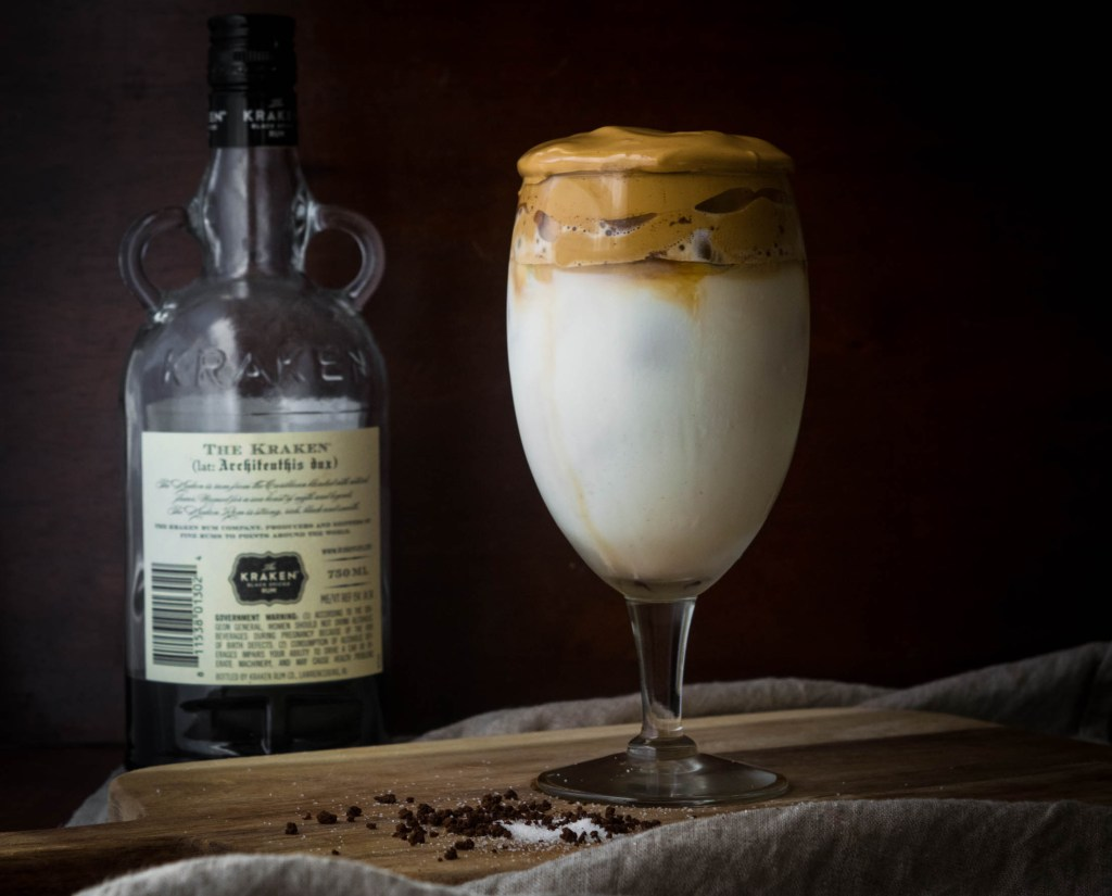 spiked whipped dalgona coffee