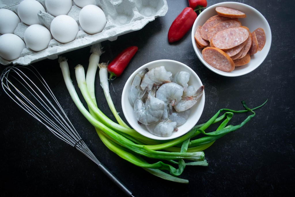 cajun frittata ingredients