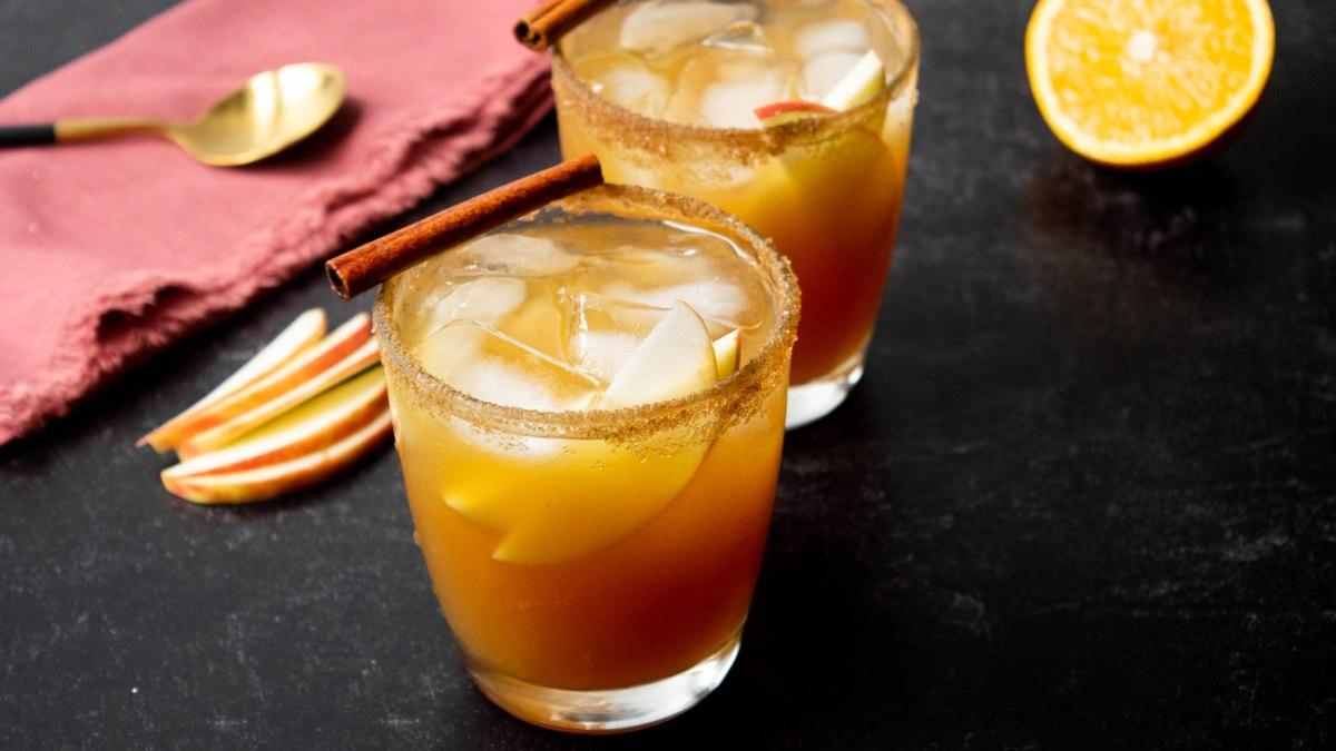 anejo apple cider margarita