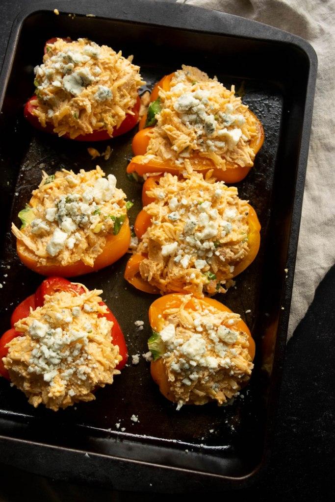orzo stuffed peppers