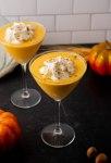 whipped cream cinnamon pumpkin drink