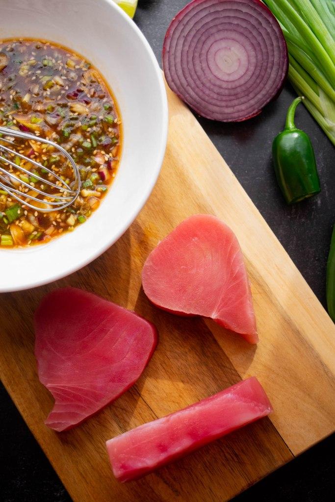tuna poke ingredients