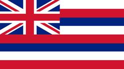 Hawaii State flag. Universities jobs.