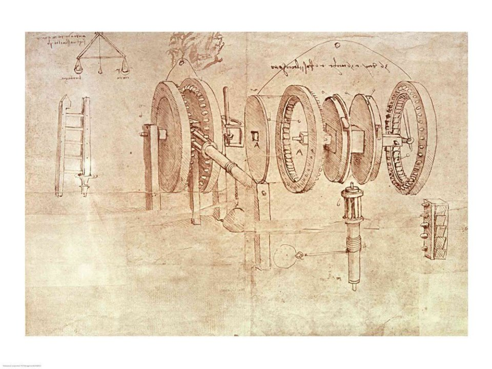 Leonardo da Vinci - Breaking down complex ideas until they are simple.