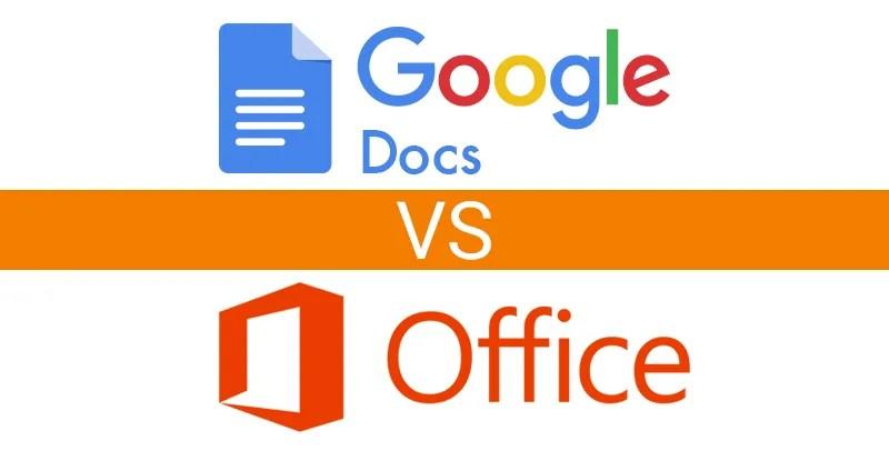 Disruptive competition - Google Drive vs Microsoft Office