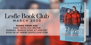 Read more about the article Rising from Ash Q&A from Lesbian Book Club